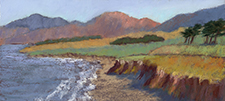 Cambria Morning - Rose Ash, pastel artist